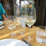 Vinho branco excelente