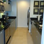 Kitchen in the room