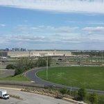 Вид из окна на Пентагон