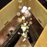 Nice lighting in the building