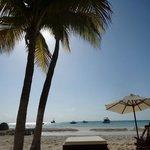 View of Na Balam beach