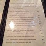 Page 2 of the Tapas menu.