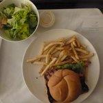 Room service - no fancy presentation but delicious
