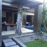 villa 5 from the front door