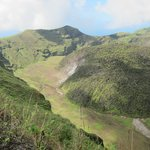 La Soufriere Volcano, trip through hotel