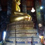 8 meter tall seated Buddha at Wat Suthat