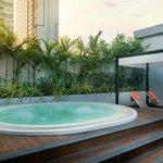Radission Suites Bangkok Rooftop Jacuzzi