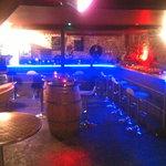 le bar a vins/tapas au sous sol