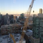 Nice early evening view. Crane blocks it though