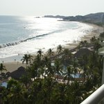View from one of our balconies