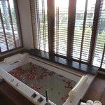 bath on arrival