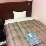 きれいなベッド