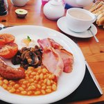 Full English Breakfast was simply amazing. Best way to start the day!