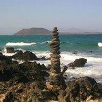 Insel Lobo , und Lanzarote