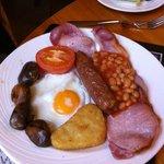 Full Bronte breakfast