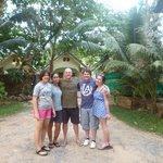 Us with Matt, Tara and Muksuda, their daughter.