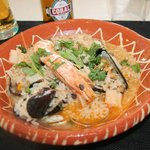 riz de la mer facon rizotto