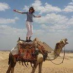 Camel riding and the Pyramids at Giza