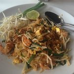Shrimp Pad Thai from the Restaturant