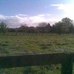 Just look at the lush farmland around.