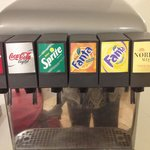 All inclusive - help yourself to soft drinks.