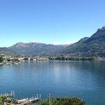 Blick auf Lugano City