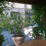 Veranda per colazione e riposo