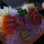 fresh sashimi. melts in your mouth quality.