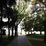 sant elena-park beim hotel
