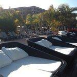 Balinese Sun loungers