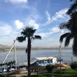 View of Nile from the garden