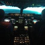 Landing at Hong kong