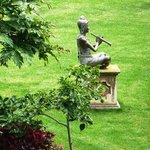 Buddha among the trees