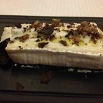 Don't miss the oozy truffly cheese course