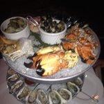 Seafood plateau royale