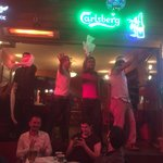 Staff dancing :)