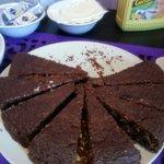 Torta al cioccolato squisita