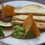 Quesadillas & guacamole--wow!