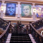a grand enterance - loved it all
