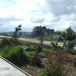 View of the Castle fron the roof garden