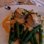 Scallops and green beans