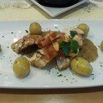 Chicken ballentine - Chicken stuffed with haggis