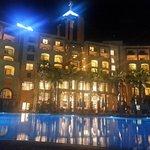 Hilton at night