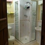 The well stocked bathroom (twin ensuite room)