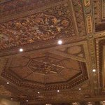 ceiling in bar