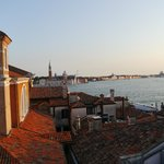 Roof-top view of San Marco Basin and San Giorgio Maggiore