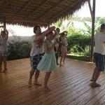 Зона для занятий йогой и танцами
