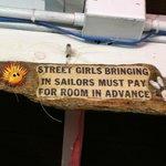 Be forewarned!