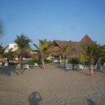 Vista desde la playa privada