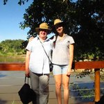 Inga & Britta at the Olifant River